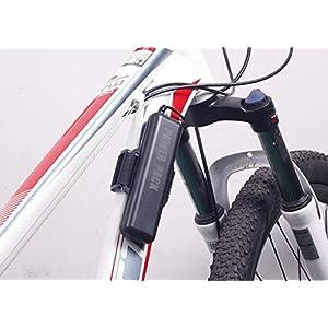 Batería de repuesto para luces de bicicleta, 10400mAh, impermeable, 8,4 V, grupo de baterías para luces de bicicleta LED Cree T6, para linternas frontales Cree T6, paral&aacute.