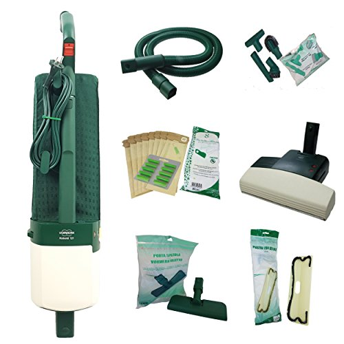 Aspirapolvere vk121 rigenerato spazzola classica scegli la composizione (vk121+battitappeto+tubo)