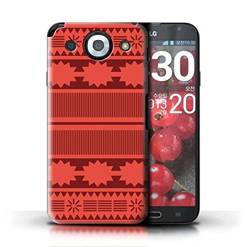 Stuff4® Hülle/Case für LG Optimus G Pro/Aztek/Prinzessin Kleid Muster/Karikatur Polynesische Prinzessin Kollektion