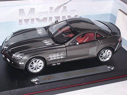 mercedes-benz-slr-mclaren-coupe-grau-2004-2009-1-18-maisto-modell-auto