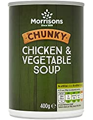 Morrisons Chunky Chicken and Vegetable Soup, 400g