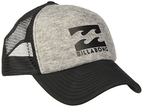 Billabong Herren Podium Trucker Schirmmütze Grey Heather