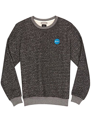 Herren Sweater RVCA Motors Chest Speckle Sweater Black