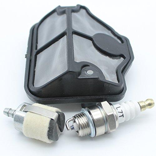 Filtre à air filtre à carburant kit de bougie d'allumage pour tronçonneuse Husqvarna 36 41 136 137 141 142 530 02 99 08/530 03 65 82