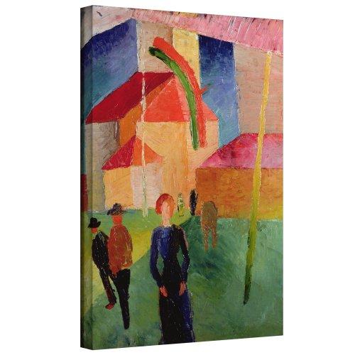 ARTWall Kunstdruck auf Leinwand August Macke