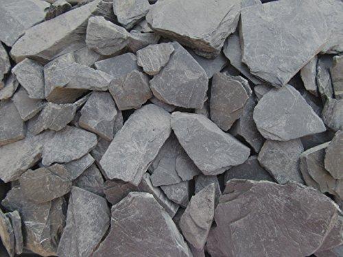 1kg Schieferbruch - Schieferplatten ca. 30mm - 60mm - wählbar auch 5kg - 10kg - 20kg -