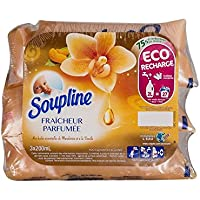 Soupline Adoucissant Dose Parfumée Vanille/Mandarine 3 x 200 ml