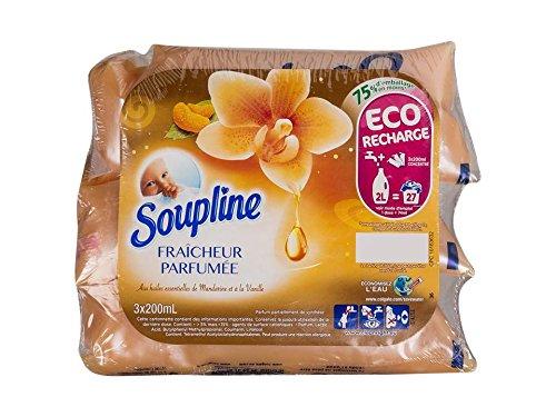 soupline Weichspüler Dosis Duft Vanille/mandarine 3x 200ml