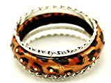 Animal Print Ladies Fashion Bangle Set