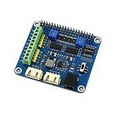 Waveshare Stepper Motor HAT for Raspberry Pi Zero/Zero W/Zero WH/2B/3B/3B+ Onboard Dual DRV8825...
