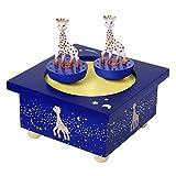 Trousselier 95063 Dreh-Spieluhr Sophie, die Giraffe