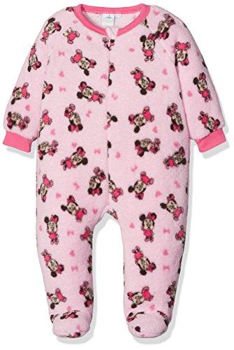 Disney minnie, pigiama bimba, rosa, neonato (taglia produttore:12 mesi)