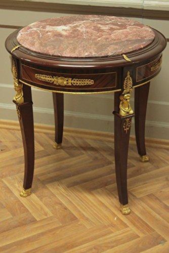 Table baroque table d'appoint de style antique Louis XV MoTa03641Rd