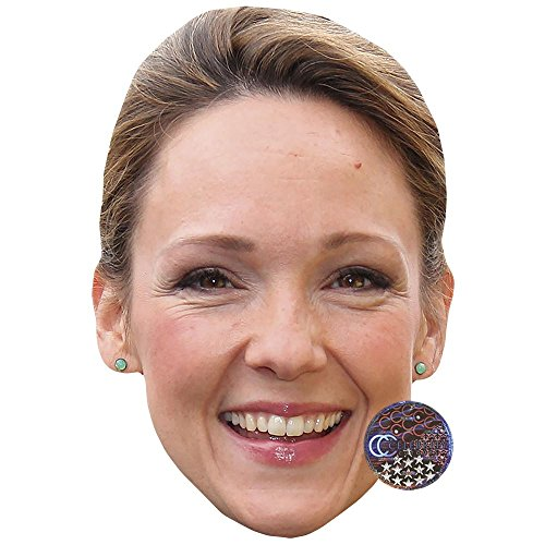 Celebrity Cutouts Carolin Kebekus Maske aus Karton