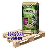 Plantop Rasensand mit Wurzelaktivator 48x 20 kg = 960 kg