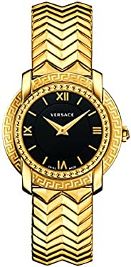 Versace Women's Analog Swiss-Quartz Watch with Stainless-Steel S