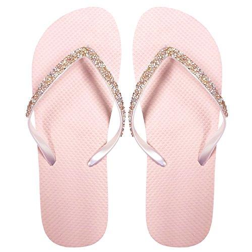 SUGAR Eyot® Damen-Mädchen-Herren Flip Flop Summer Beach Pool Schuhe