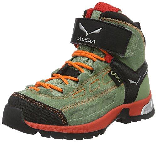 Salewa Unisex Bebê Jr Jogador Alp Meados Gtx Grün Sneaker (óleo Verde / Papavero 5871)