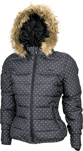 Adidas Piumino Donna Imbottito Giacca con Cappuccio colore Black D86873 (XXS)