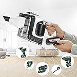 Bosch BBS1U224 Unlimited Serie 8 kabelloser Handstaubsauger (18V Mehr-Geräte-Akku, unbegrenzte Laufzeit, austauschbarer…