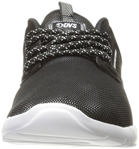 DVS Shoes Premier 2.0+, Baskets Homme, Noir Schwarz (Black Moire Mesh)