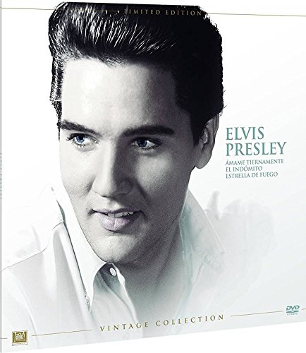 Elvis Colección Vintage Funda Vinilo 3 Películas