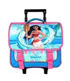 Cartable A roulettes 38CM Rose-VAIANA