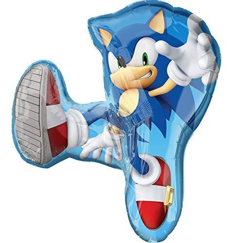 Amscam Folie Ballons, S/Form: Sonic The Hedgehog (The Sonic Halloween Hedgehog)