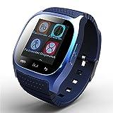 Bluetooth Smart Watch Touch Bildschirm Armbanduhr Handy mit Mikrofon Barometer Höhenmesser für Android Handy
