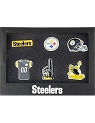 Pittsburgh Steelers 6Pinset dans boîte cadeau–NFL Football Supporter Boutique