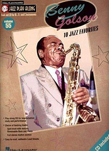 Benny Golson: Jazz Play-Along Volume 55 (Hal Leonard Jazz Play-Along) by Benny Golson (2005-12-01)