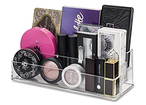 byAlegory Tiered Acrylic Palette Maquillage Organisateur | Convient aux petites et moyennes palettes de taille standard