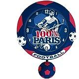 Pendule 100% Paris avec ballon balançier