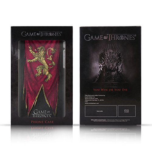 Offizielle HBO Game Of Thrones Daenerys Targaryen Winter Is Here Brieftasche Handyhülle aus Leder für Apple iPhone 7 Plus Arya Stark