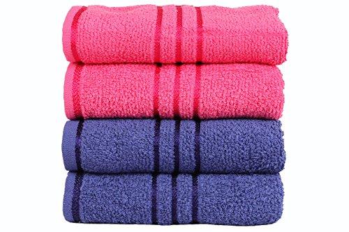 trident-everyday-400-gsm-baumwolle-4-combo-handtucher-blau-und-pink