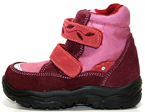 Jela Tex - Chaussures enfants 61.120.29 cheville bottillons et bottines pour filles Rouge (pourpre/rubin 29))