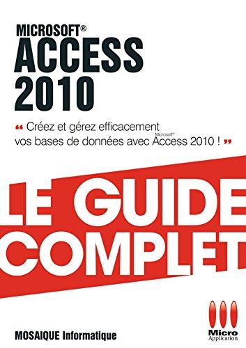 Access 2010 par Mosaïque Informatique