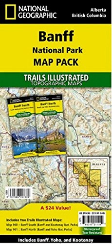 Banff National Park [map Pack Bundle] (National Geographic: Trails Illustrated)