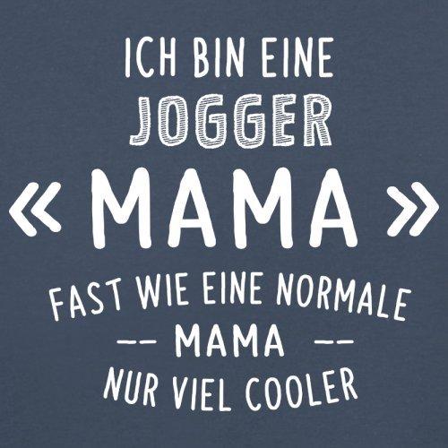 Ich bin eine Jogger Mama - Damen T-Shirt - 14 Farben Navy