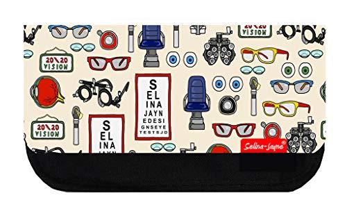 Selina-Jayne Optiker Limited Edition Designer Große Kosmetiktasche