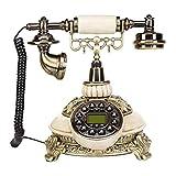 R&Y Telefono Fijo Vintage,Telefono Retro Identificador de Llamadas - Teléfono de casa Teléfonos...