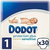 Dodot Protection Plus Sensitive Pañales Talla 1 (2 - 5 kg) 30 Pañales