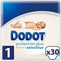 Dodot Protection Plus Sensitive Pañales Talla 1 (2-5 kg) 30 Pañales