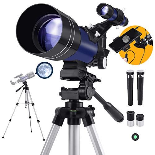 Télescope Astronomique pour Enfant ou Débutants avec Trépied...