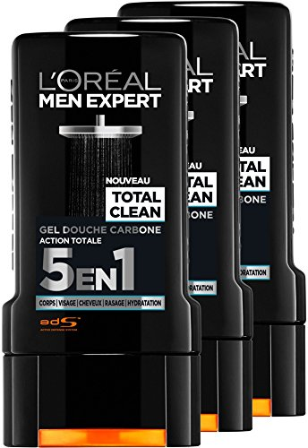 L'Oréal Men Expert Total Clean Gel Ducha 5 1 Men