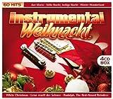 Instrumental Weihnacht (60 Weihnachtslieder auf 4 CDs - Ave Maria, Stille Nacht, Winter Wonderland, White Christmas, Leise rieselt der Schnee, Rudolph The Red-Nosed Reindeer uva.)