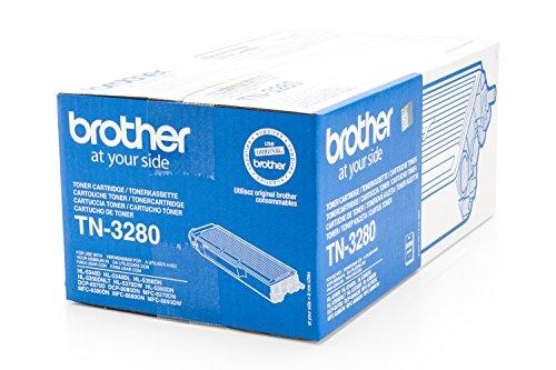 Preisvergleich Produktbild Original Toner passend für Brother HL-5350 Series Brother TN3280 , TN-3280 - Premium Drucker-Kartusche - Schwarz - 8.000 Seiten