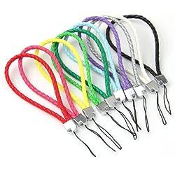 Cordones Cuero Coloridos Tejidos para Moviles Cadena Nuevo
