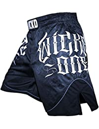 Wicked One MMA Muay Thai Short Fights, Strike, bleu, pantalons,,, Short, le kickboxing