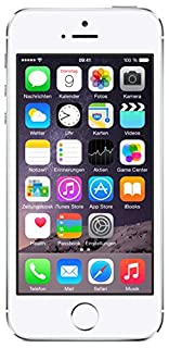 Apple iPhone 5S Smartphone 16GB (10,2 cm (4 Zoll) IPS Retina-Touchscreen, 8 Megapixel Kamera, iOS 7) Silber (B00F8JHE16) | Amazon price tracker / tracking, Amazon price history charts, Amazon price watches, Amazon price drop alerts